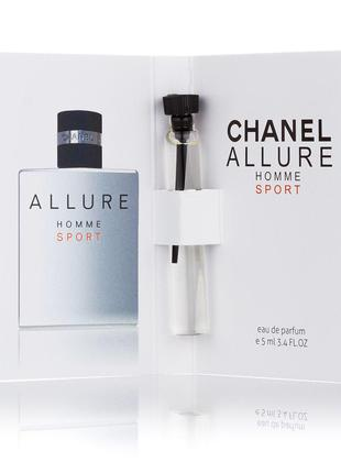 Chanel Allure homme Sport мужской мини-парфюм 5мл