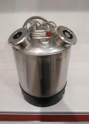 Емкость промывочная(4 фитинга в комплекте) б/у(MicroMatic)