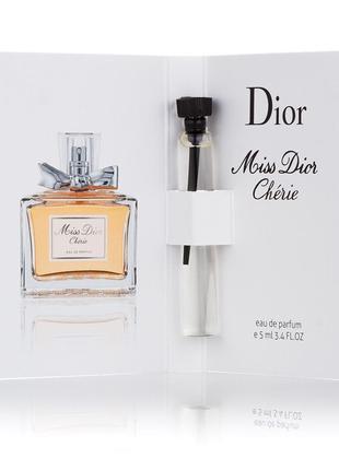 Miss Dior Cherie Eau de Parfum женский мини-парфюм 5мл