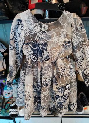 Платье для девочки рост 116-122