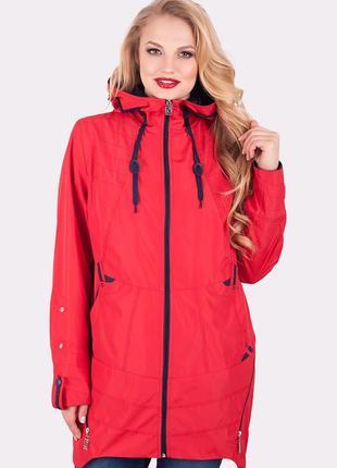 Ветровка-курточка,женская больших размеров,дождевик,плащ