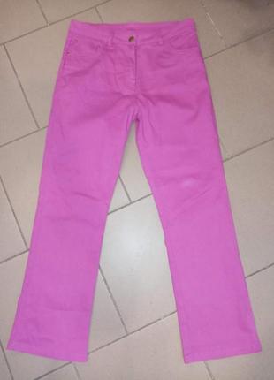 Классные джинсы с высокой посадкой р 44-46