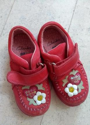 Clarks туфли на девочку