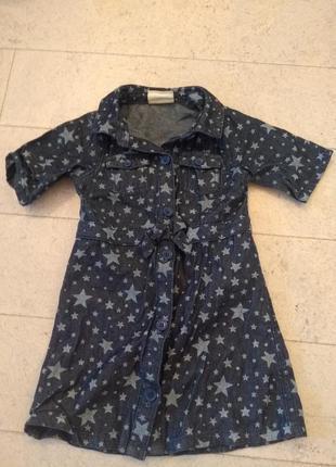 Crazy8 джинсовое платье на девочку