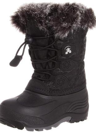 Новые зимние ботинки на девочку kamik snowgypsy boot