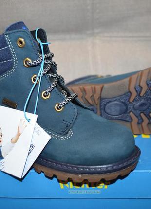 Кожаные зимние сапоги сапожки ботинки richter 27 размер 17.5 см