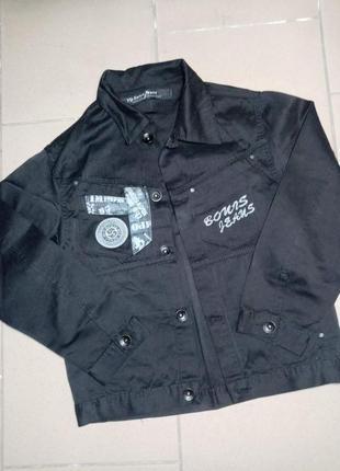 Пиджак котон для мальчика 11-12лет