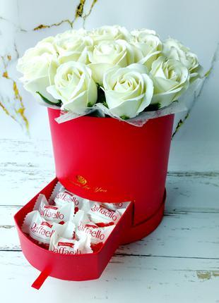 Букет з мила. Букет з мильних троянд.Подарунок на День народження