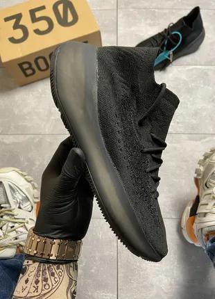 Кроссовки Adidas Yeezy Boost 380 Triple Black.
