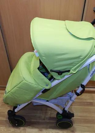 Коляска-трость Babyhit Rainbow D200 Green Grey