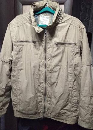 Мужская куртка -ветровка canda  размер 52-54.