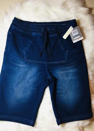 Джинсовые шорты 11-12 лет, шорты для подростка, шорты для маль...