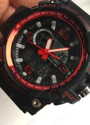 Мужские водонепроницаемые спортивные часы skmei (5 bar), оригинал