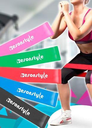 Резинки для фітнесу, Esonstyle, резинки для спорту, фітнес стрічк