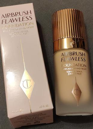 Тональная основа charlotte tilbury airbrush flawless foundation