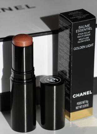 Стик-хайлайтер для лица, губ и глаз chanel baume essentiel - g...