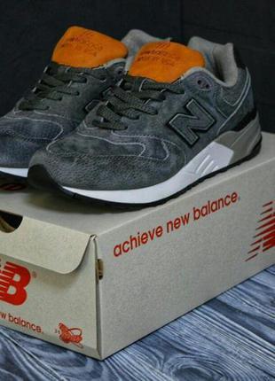👟кроссовки мужские new balance 999 серые👟