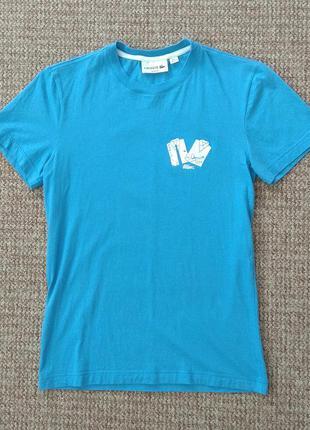 Lacoste футболка slim fit оригинал (2 - xs-s)