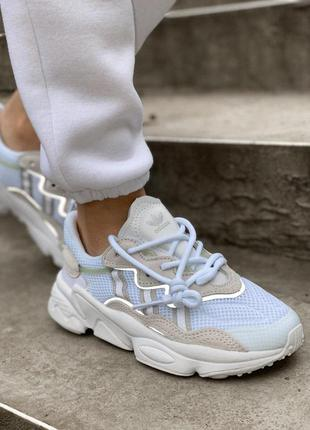 Кроссовки мужские adidas ozweego white