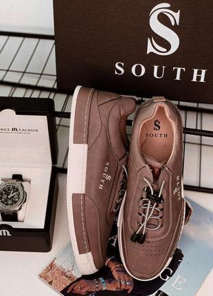 👟кеды мужские south walt beige 👟
