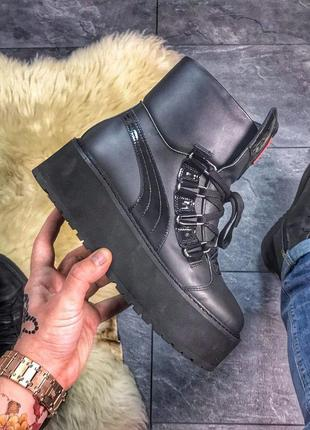 Шикарные ботинки puma x fenty by rihanna