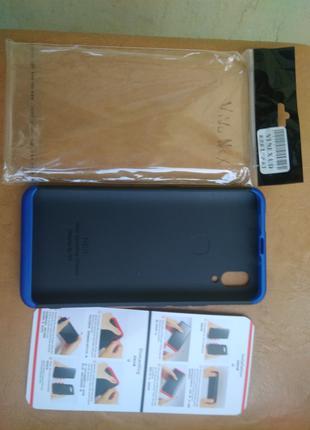 Чехол Vivo Nex Черный пластик пластмассовый бампер
