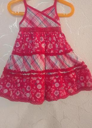 Сарафан, платье  matalan 12-18 мес (80-86 см).