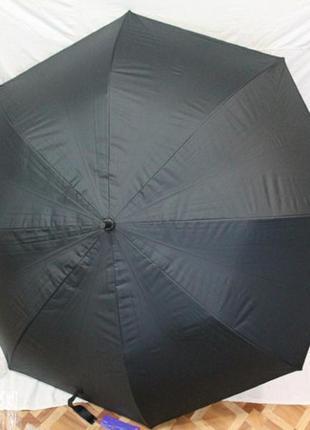 Зонт-трость полуавтомат, мужской, 8 спиц, тифлон