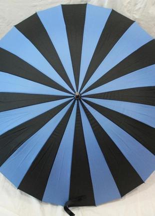 Зонт женский  полуавтомат, 24 спицы