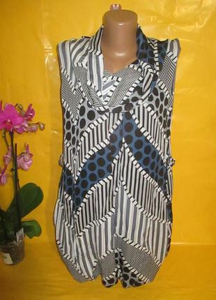 Очень красивое женское платье-туника грудь 49 см 95% вискоза !...