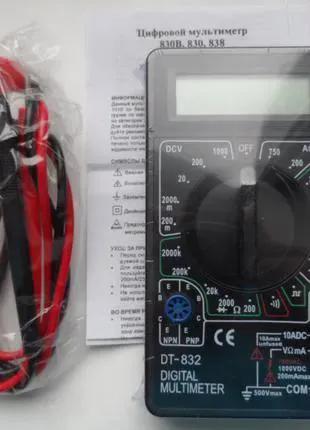 Мультиметр тестер DT-832