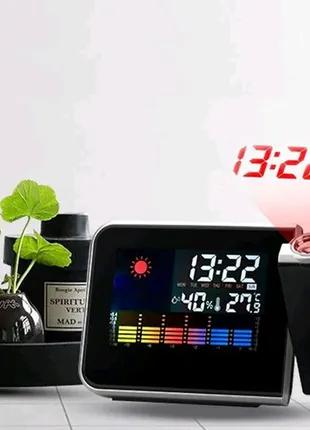 Настольные часы метеостанция 8190