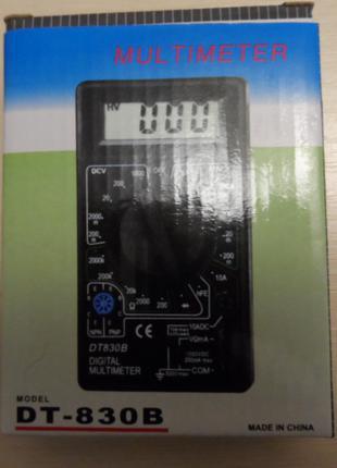 Мультиметр тестер DT-830B новый