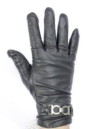 Качественные кожаные перчатки на утеплителе ( ягненок)