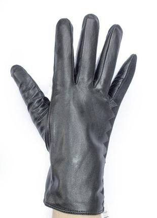 Качественные кожаные перчатки мех!