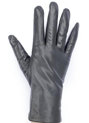 Качественные кожаные перчатки на меху
