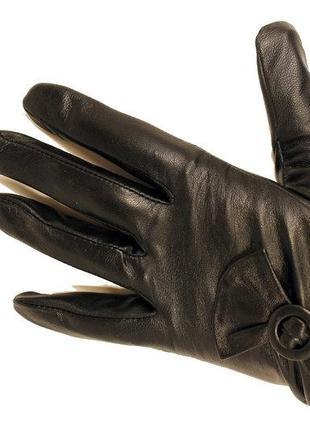 Качественные кожаные перчатки сенсорные демисезонные