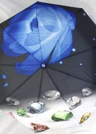 Зонт женский полуавтомат антиветер
