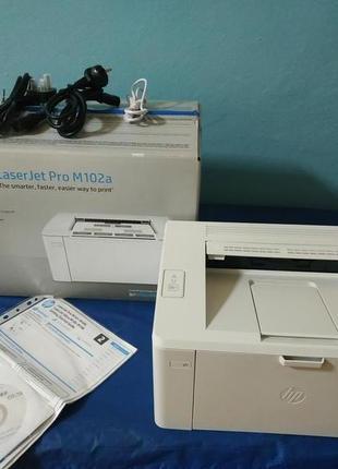 Принтер лазерный ч/б HP LaserJet Pro M102a (G3Q34A)