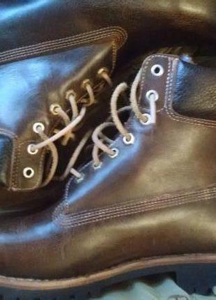 Ботинки timberland оригинал, кожа
