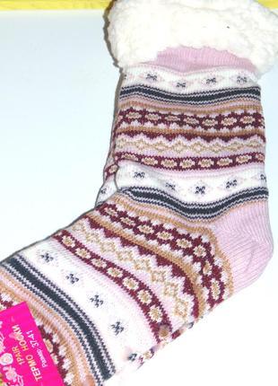 Носки сапожкиженские на овчине с тормозами, очень теплые и мягкие