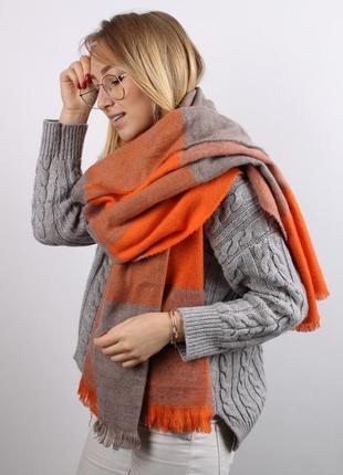 Палантин ( плед, шарф) деми/зима