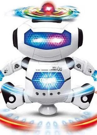 Робот танцующий, светящийся, музыкальный, АКЦИЯ