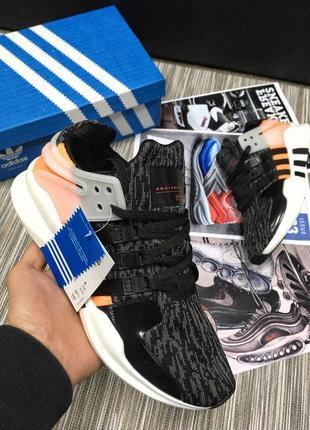 Трендовые женские кроссовки adidas equipment серые