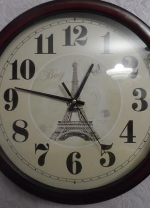 Часы настенные Эйфелевая башня №1