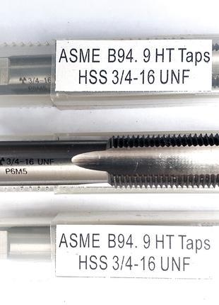 Метчик машинный UNF 3/4x16 HSS