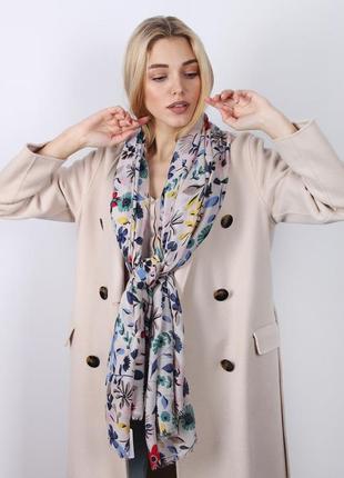 Палантин ( шарф) весна, осень, много цветов))