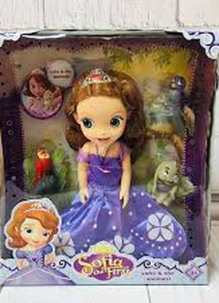 Кукла София Принцесса ZT 8809 с питомцами, 30 см