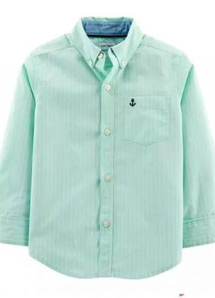 Carters рубашка в полоску для мальчика 2т