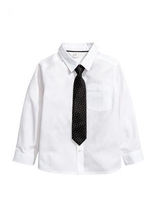 Hm рубашка для мальчика с галстуком